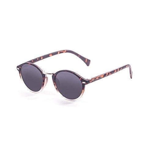 Paloalto Sunglasses Maryland–Gafas de Sol Unisex, Demy Brown/White