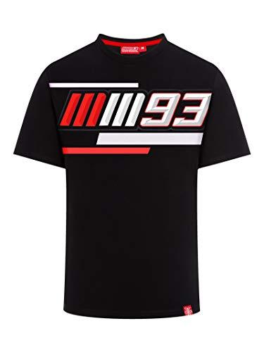 Marc Marquez 2019 MotoGP Herren T-Shirt 93 Logo Grau MM93 100% Baumwolle Größen S-XXXL