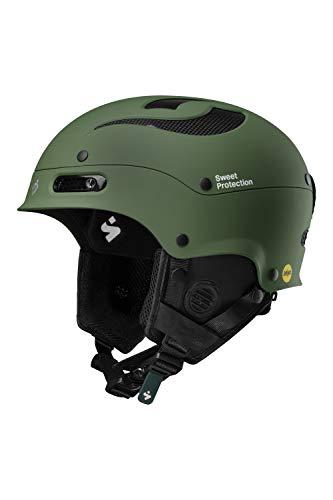 Sweet Protection Trooper II MIPS Casque de Ski/Snowboard Unisexe pour Adulte Olive Drab, ML