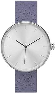 [アナログウォッチコー] 腕時計 ソムリエ 酒 コルクバンド 正規輸入品 (ブルー)
