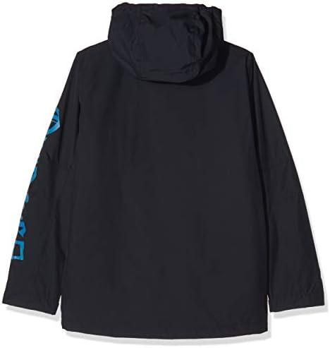Black Quiksilver in The Hood-Veste de Ski//Snowboard pour Gar/çon 8-16 Ans FR