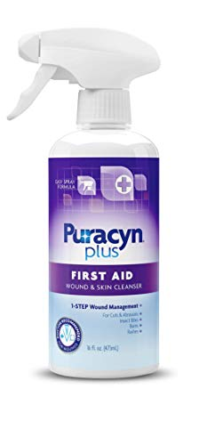 Our #5 Pick is the Puracyn Plus Wound and Skin Cleanser