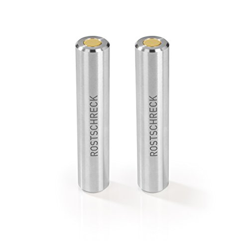 Rokitta's Rostschreck Gegen Flugrost, Verhindert Rostflecken Auf Besteck, Töpfen & Pfannen - Ohne Chemie (Aluminium), 2 Stück
