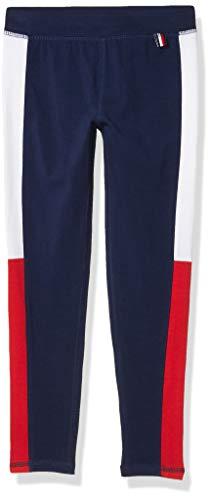 Tommy Hilfiger Kids Girls' Active Pant, Flag Blue, 5