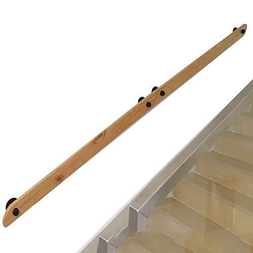 Non-Slip aus Holz Treppengeländer, Geländer Treppengeländer Treppengeländer (30cm-200cm), Wandhalterung Banister Geländer Unterstützung, Geeignet for Bars, Lofts, Treppen, Garage Steps