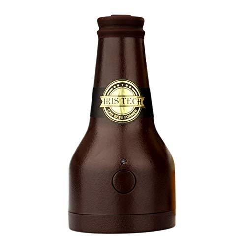 Legou Jarritas para Leche Fabricante De Espuma De Cerveza |Dispensador De Servidores De Cerveza Bartender Portátil For Accesorios For Exteriores - Marrón