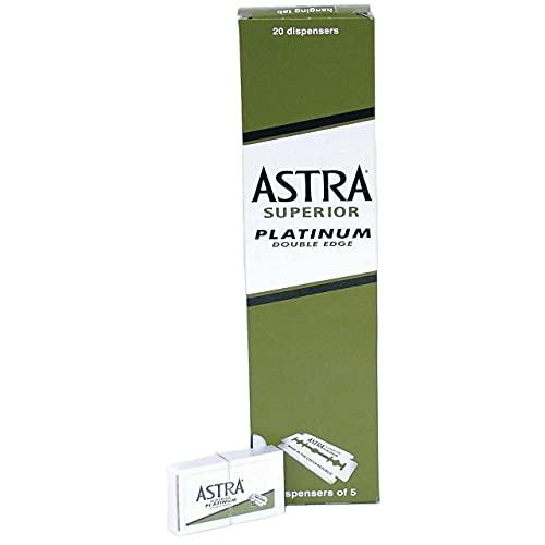 Astra Superior Platinum Double Edge Rasierklingen