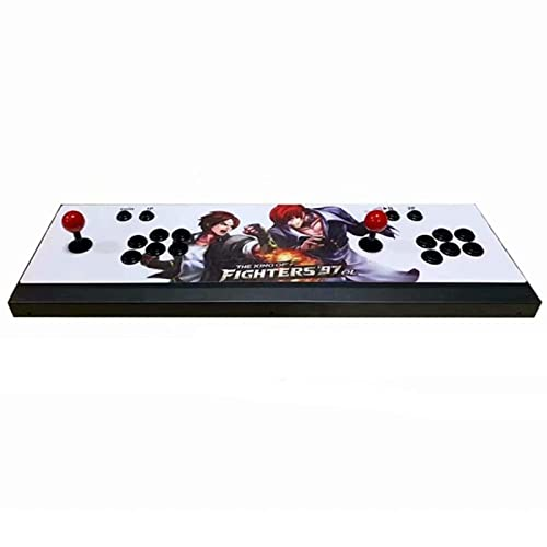 3D Pandora Game Box - Consola 3333 Retro HD Juegos Full HD 720P Video, 2 controles de juego de jugadores, soporte multijugador en línea, agregar más juegos, jugar consolas de juegos