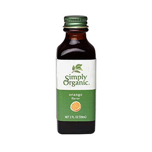 Simply Organic Orange Flavor Certified Organic, 2oz