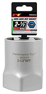 Performance Tool W83246 1/2 Drive Lock Nut Socket, 2-3/4-Inch used on Ford F-250 and F-350 trucks