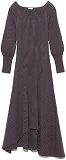 [Fray I.D] 羊毛山羊绒不对称连衣裙 FWNO214021 女款