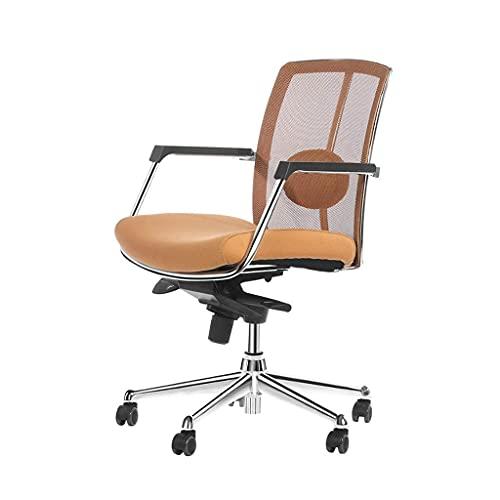 N\C YASA Sillas de escritorio, silla de ordenador, silla de oficina, silla de personal, silla de conferencia, taburete de estudiante de elevación rotativa, simple silla ergonómica sillas de ordenador