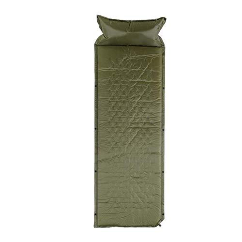 Song6 Strandzelt Mit angebrachtem Kissen Aufblasbare wasserdichte Zelt-Schaum-Matte Leichte Luftmatratze im Freien Selbstaufblasende Faltbare kompakte Einzel-Camping-Spleißen-Isomatte Camping Zelt