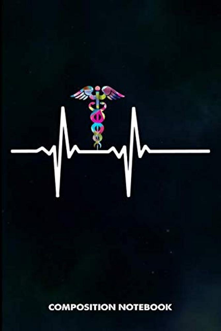 受粉者泣き叫ぶ手順Composition Notebook,: Paramedic heartbeat, Birthday Journal for Healthcare EMT Medics to write on