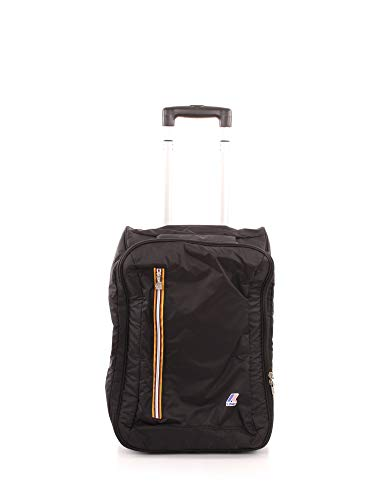 TROLLEY K-WAY K-POCKET CABIN SIZE UPRIGHT 8AKK13410 NERO