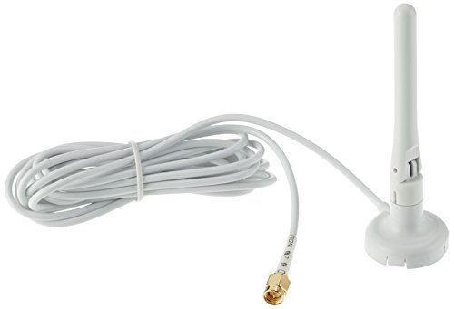 Eltako Funkantenne mit 250 cm Kabel, 1 Stück, grau/weiß, FA250-GW