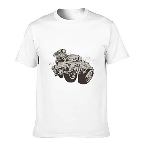 Camiseta de algodón para hombre con texto en inglés 'I Am Not Old I Am Classic', divertida y elegante