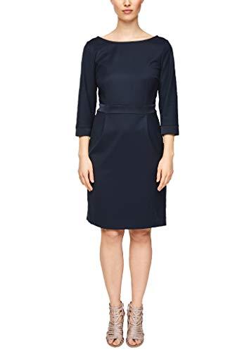 s.Oliver BLACK LABEL Damen 150.10.004.20.200.2012431 Kleid, Navy, 38