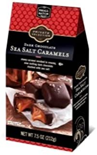 Private Selection Dark Chocolate Covered Caramel Wtih Sea Salt 7.50z, pack of 1