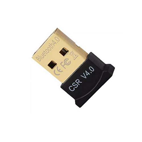 TOPofly Bluetooth 4.0 USB Low Energy Micro Adapter Dongle Für Pc Mit Windows 10/8.1/8/7 / Vista/Xp, Raspberry Pi, Linux Und Stereo-Headset Kompatibel (schwarz)