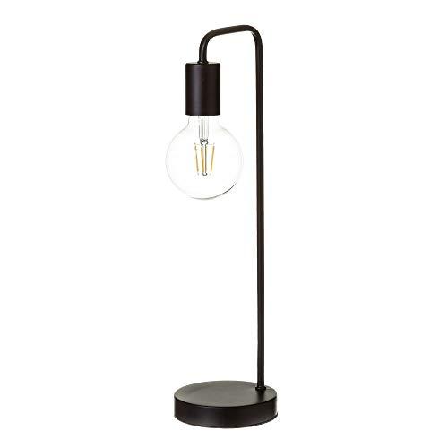 Lámpara led para mesa industrial negra de 48x13x13 cm