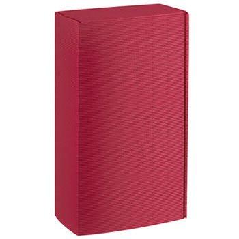 Weinkarton24.com 10 x Caja de cartón, Copas de Vino, Botella del Paquete cartón (2 Botellas) – dekowell de PV – Burdeos: Amazon.es: Juguetes y juegos