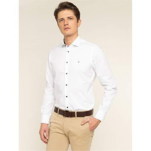 Tommy Tailored TT0TT06391 blouse heren wit 39