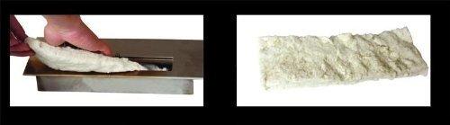 SPARTIPP: Keramikschwamm für Bio-Ethanol Kamin Brennkammer 29 x 10,5 x 5 cm