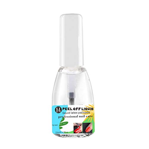 12ml Nail Art Latex Liquid Tape Peel Off Liquid Tape Nail Care Tape Peel Nail Art Nail Art Liquid Nail Nail Barrier Peel Off Liquid Nail Tape Maniküre Aufkleber Nail Art