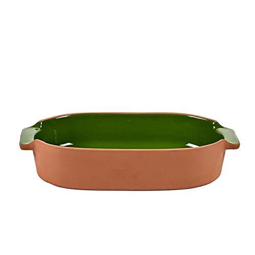 Jansen + Co Petite ovale Plat à Four en terre cuite