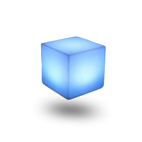 Up Light Light Garden Piscina Lámpara de pie USB CARGABLE LED Taburete Luz decorativa Fotografía Nightlight Fiesta de Navidad 16 Color claro Carga remota IP54 Al aire libre impermeable (6 pulgadas)