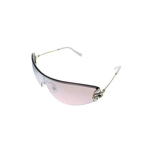Miu Miu 0MU 66US Gafas, Oro Pálido, 48 para Mujer