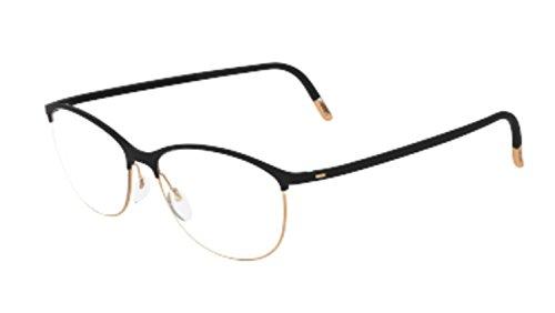 Eyeglasses Silhouette Urban Fusion Full Rim 1574 6050 black 53/16/145 3 piece fr