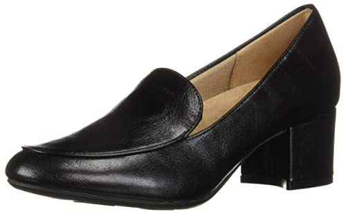 LifeStride Women's Trixie Loafer, Black, 8.5 W US
