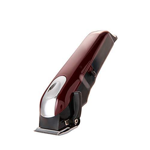 Lame sans fil Tondeuse à cheveux Kit acier électrique sans fil Cutter coiffure Tondeuse portable ergonomique Tondeuse pour hommes rasoir