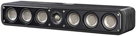 Polk Audio Signature Series S35 Center Channel Speaker (6 Drivers) | Surround Sound | Power Port Technology | Detachable...