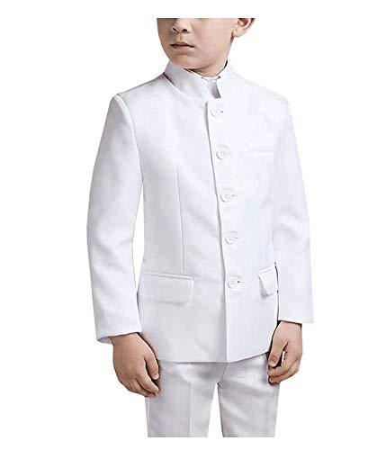 LoveeToo Traje de niño 2 piezas Slim fit higth solapa niños diseño clásico esmoquin Blazer para boda (Blazer+pantalones