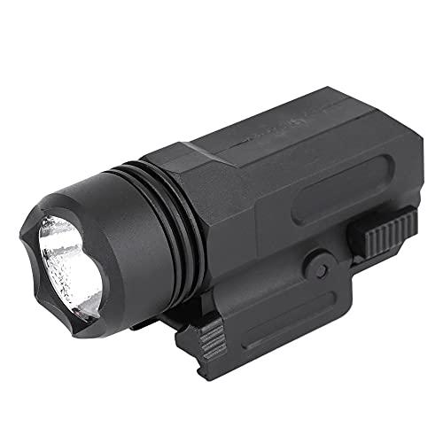 LIUTT Searchlight al aire libre Super brillante portátil brillante LED linterna antorcha liberación rápida con montaje en carril para carril 20mm