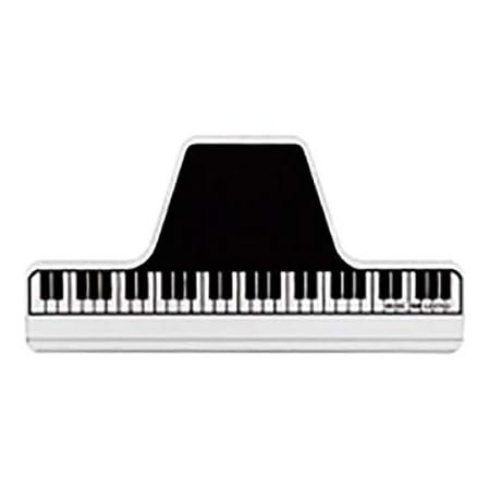 ナカノ ミュージック ブック クリップ クリア 鍵盤 CLW-30/C/KB
