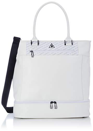 [ルコックスポルティフゴルフ] ゴルフ ボストンバッグ 二層式 シューズポケット ショルダー付き QQBPJA03 メンズ WH00(ホワイト)