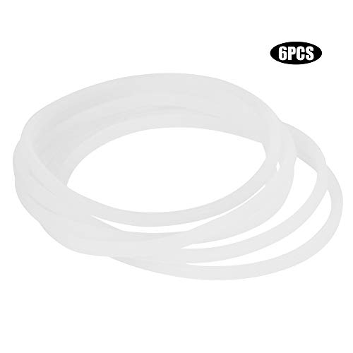 SunshineFace Rubber Seal Ring, Nieuwe Vervangende Pakkingen Rubber Seal Ring Voor Magic Bullet Flat/Cross Blade 6PCS