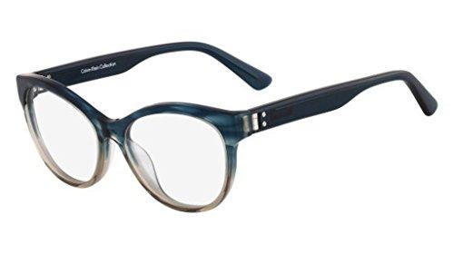 Calvin Klein CK7986 408 -52 -16 -135 Calvin Klein Brillengestelle CK7986 408 -52 -16 -135 Cateye Brillengestelle 52, Blau