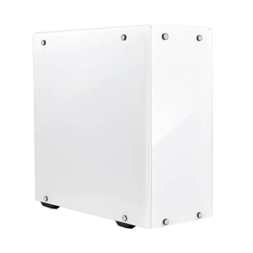 EVGA DG-75 Alpine White Mid-Tower, 2 Sides of Tempered Glass, Gaming Case...