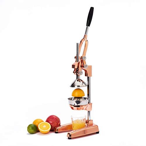 Lumaland Exprimidor de Cítricos Profesional - Exprimidor de Naranjas, Frutas, y Zumo...