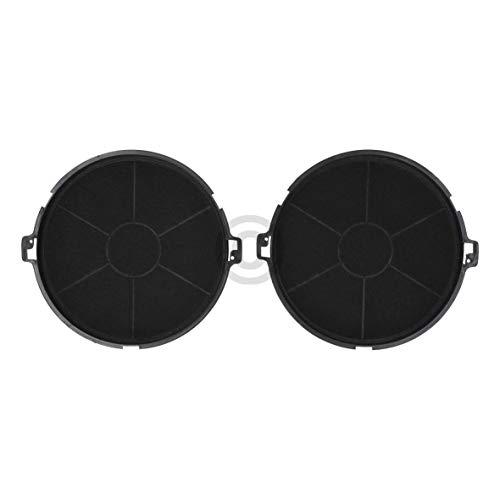 2 filtros de carbón DL-pro para campana extractora AEG Electrolux Zanussi 50290662001 EFF73 Whirlpool 481281729027 Wpro CHF187
