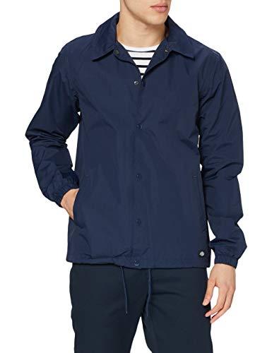 Dickies Torrance, Giacca Impermeabile Uomo, Blu (Navy), Large
