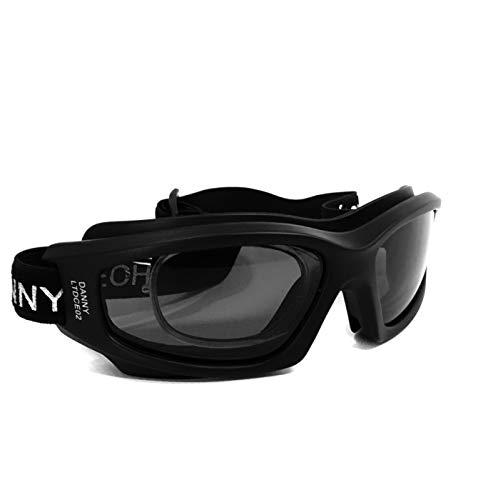Óculos Proteção DANNY D-TECH Esportivo Com Clipe Interno P/Lentes De Grau Ideal Para Ciclismo Futebol Voley Paraquedismo Paintball