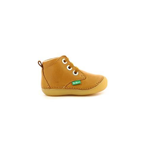 Kickers SONIZA, Oxford Plano Unisex bebé, Camel Claro, 19 EU