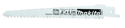Makita 723053-A-5 9-Inch 3TPI Wood Cutting Recip Blade, 5-Pack