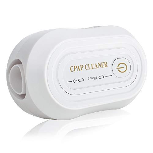 Auto Desinfectante Limpiador de CPAP, Denshine Portátil Mini CPAP Limpiador para Tubos de Aire Limpiar Dispositivo